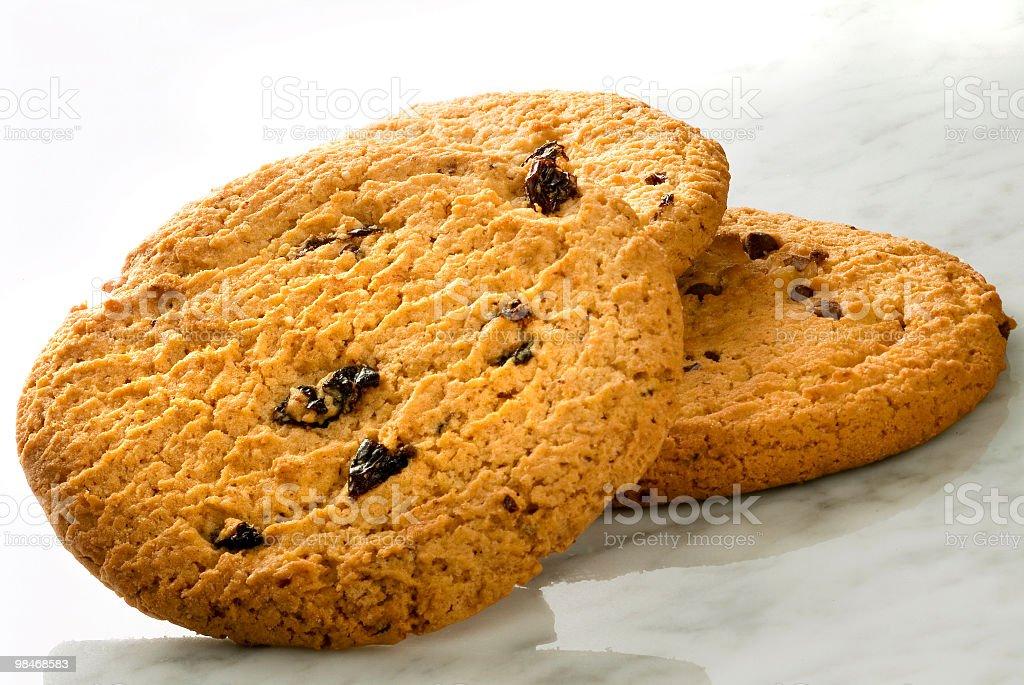 Natural Cookies royalty-free stock photo