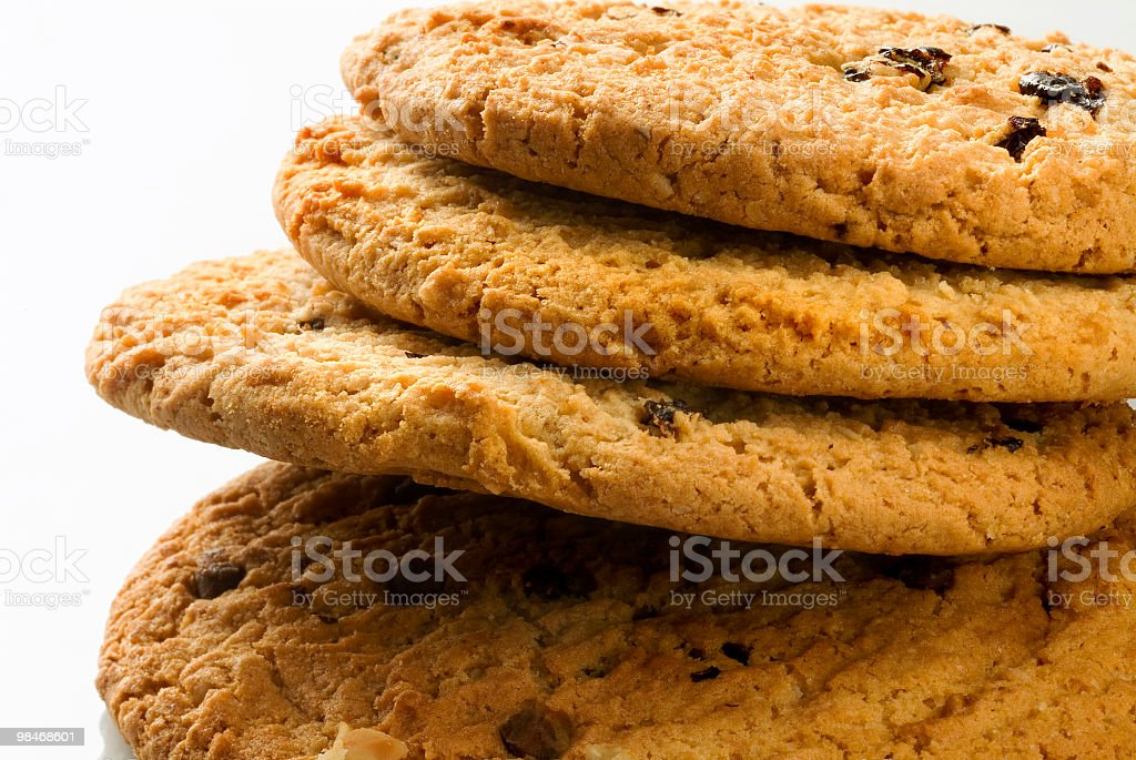 Natural cookies royalty-free stock photo