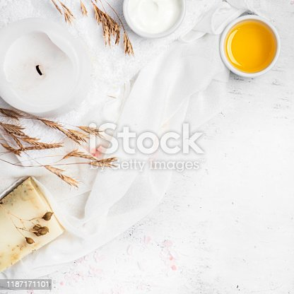 istock Natural cosmetics and skin care 1187171101
