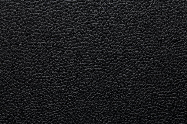 Natural dark black leather texture Natural pattern High resolution natural, dark black leather  texture. Black backgrounds, natural pattern. cowhide stock pictures, royalty-free photos & images