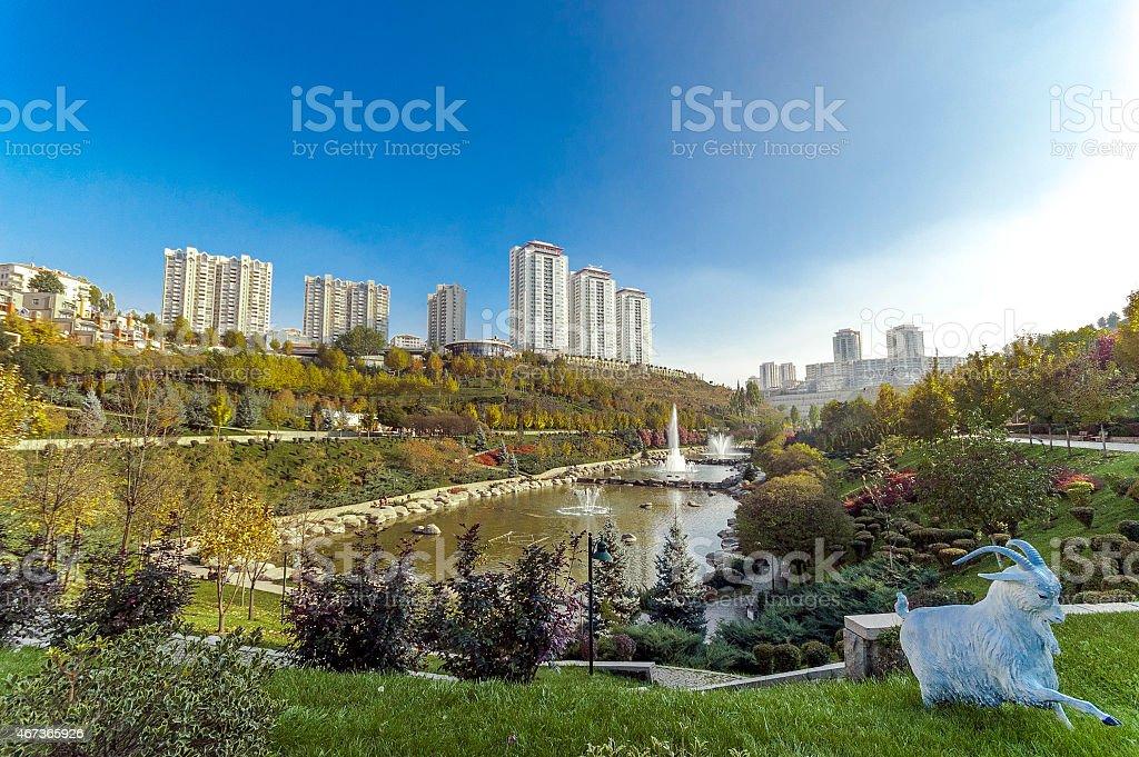 Natural, Dikmen valley park en Ankara - foto de stock