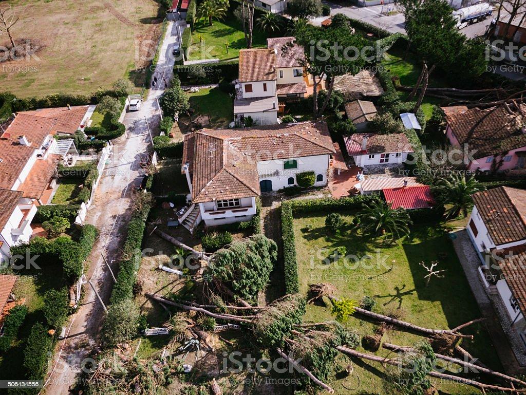 Natural disaster stock photo