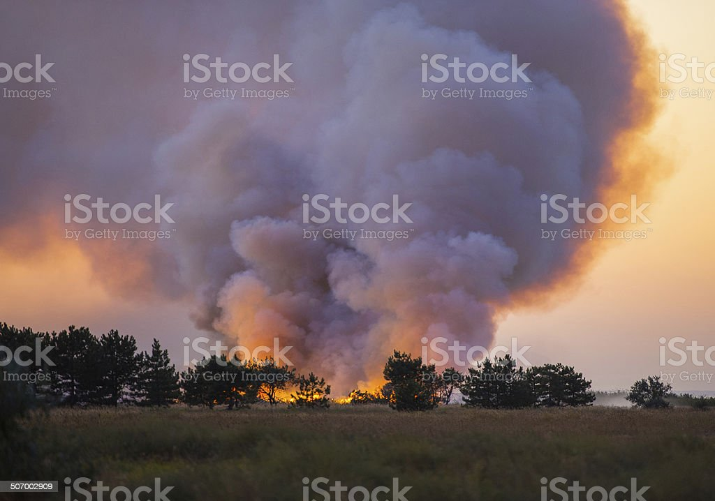 natural disaster stock photo