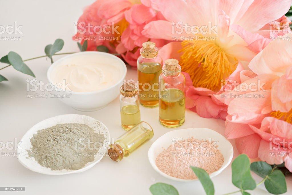 Produits domestiques naturels pour les soins de la peau - Photo