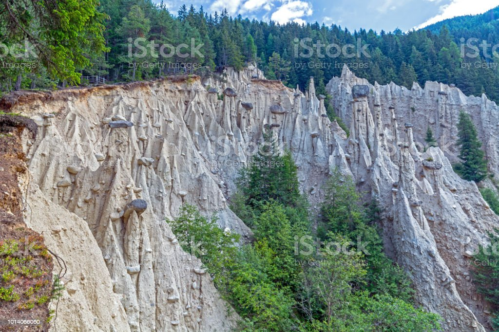 Natural Earth Pyramids Stock Photo - Download Image Now - iStock