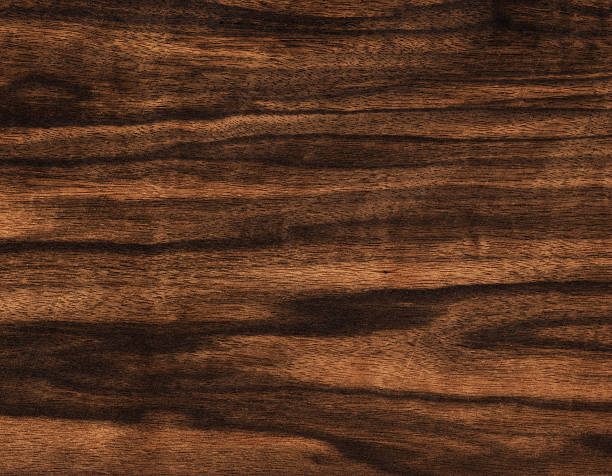 natural ebony wood stock photo