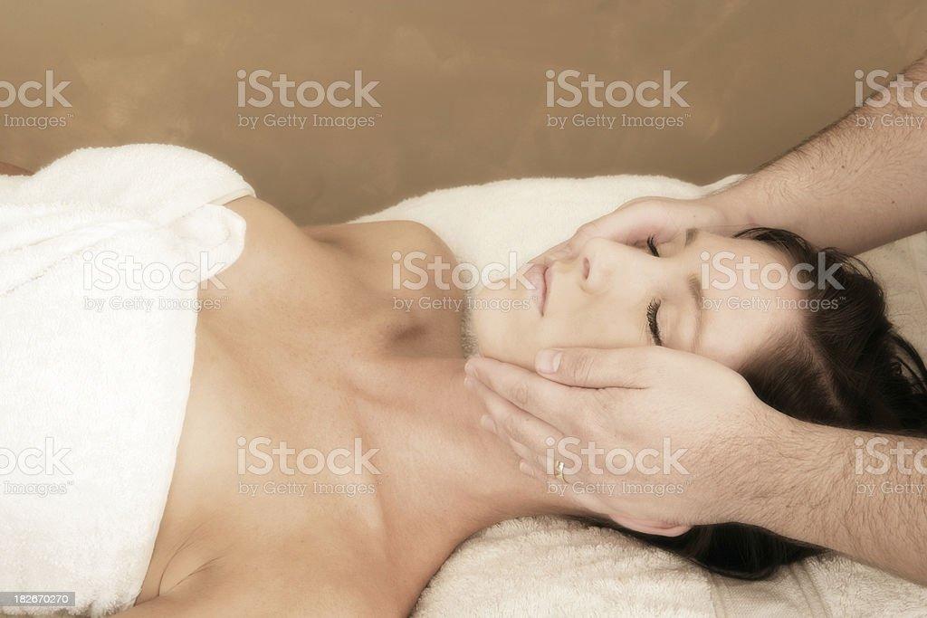 Natural Facial royalty-free stock photo
