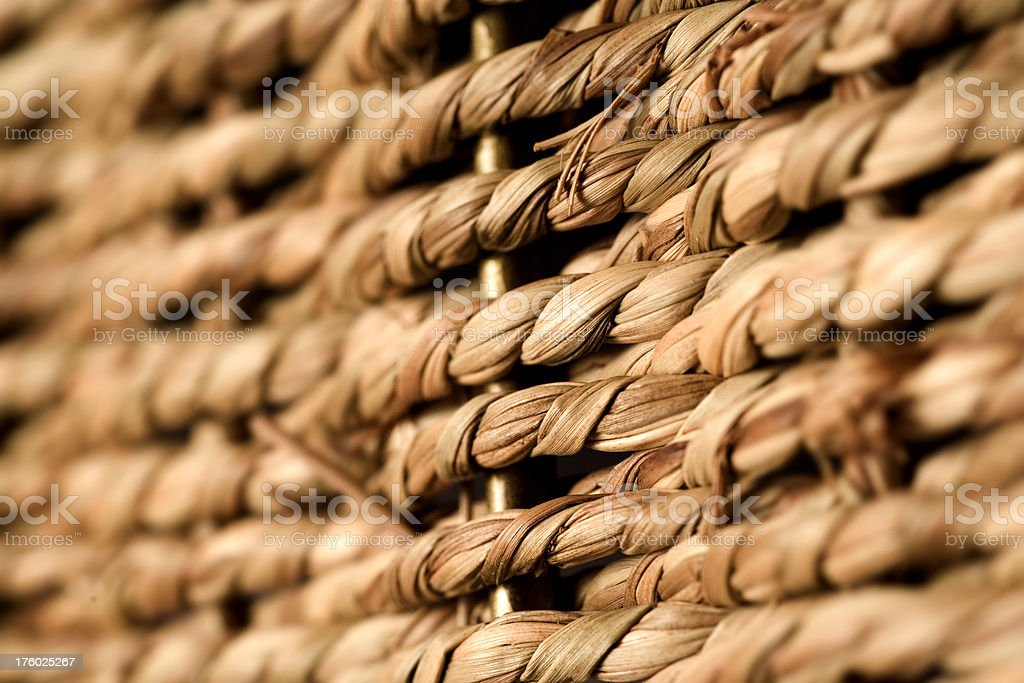 Natural Fiber royalty-free stock photo