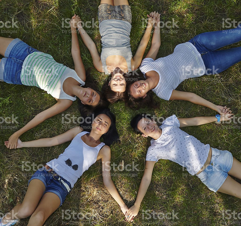 Natural friendship royalty-free stock photo