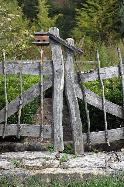 Natural Garden stock photo