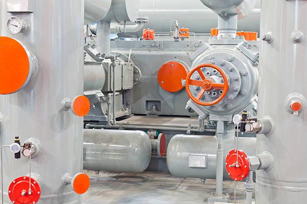 Erdgas-Kompressoren system – Foto