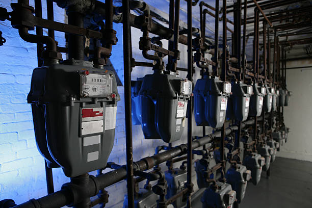 Natural Gas meter – Foto