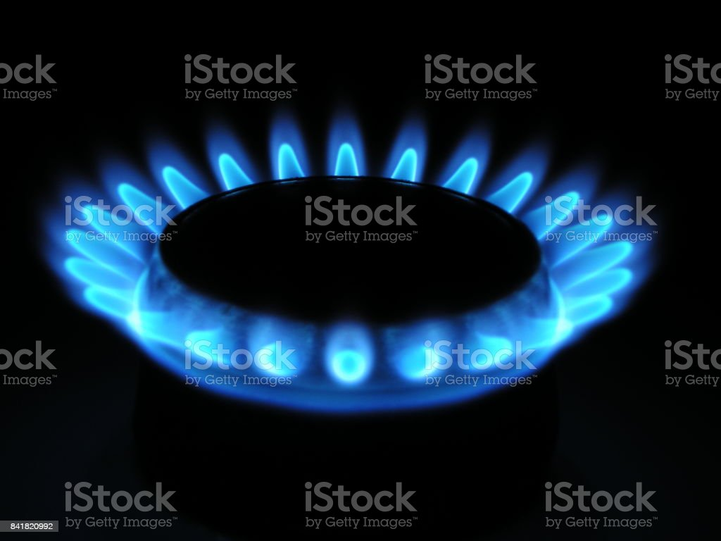 Natural Gas stock photo