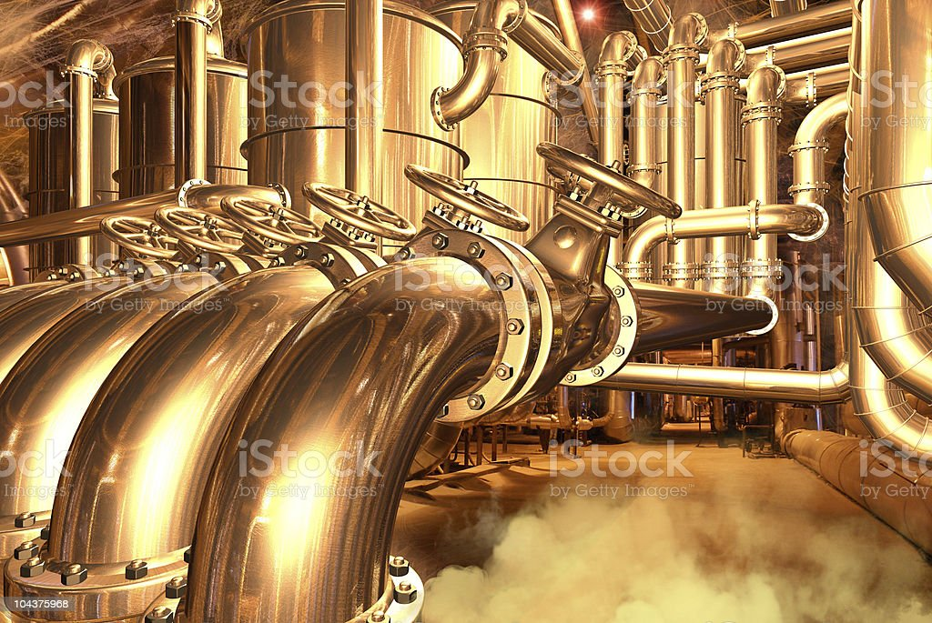 natural gas pipeline royalty-free stock photo
