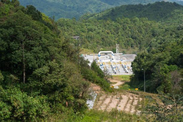 Erdgas-Übertragungsanlage – Foto