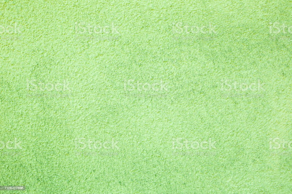 Natural green concrete texture background. stock photo