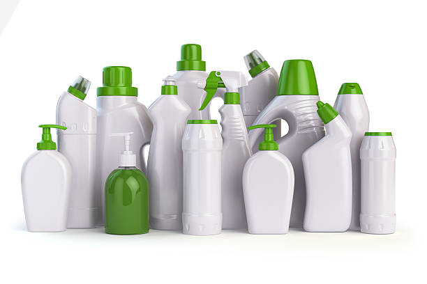 detergent natural cleaning supplies bottles containers illustration bottle vector illustrations laundry plastic chemical clip clipart household royalty antiseptic isolated similar