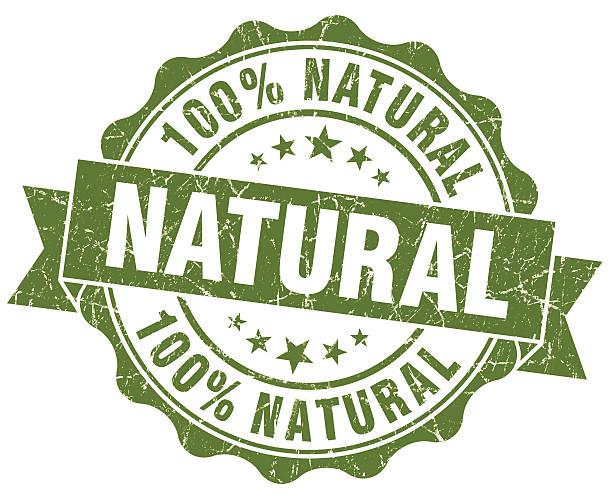 grunge sigillo rotondo Verde naturale - foto stock