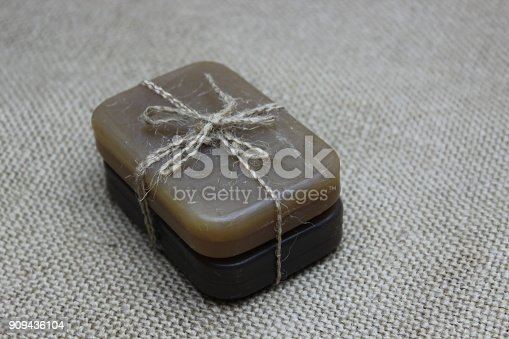 istock Natural handmade soap 909436104