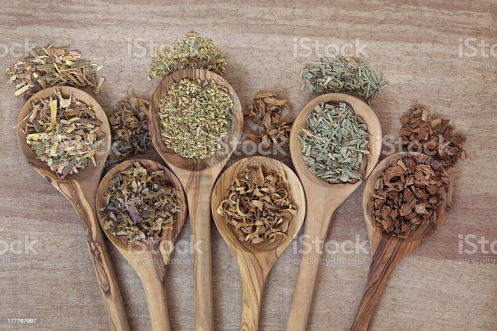 Natural Health Remedies royalty-free stock photo