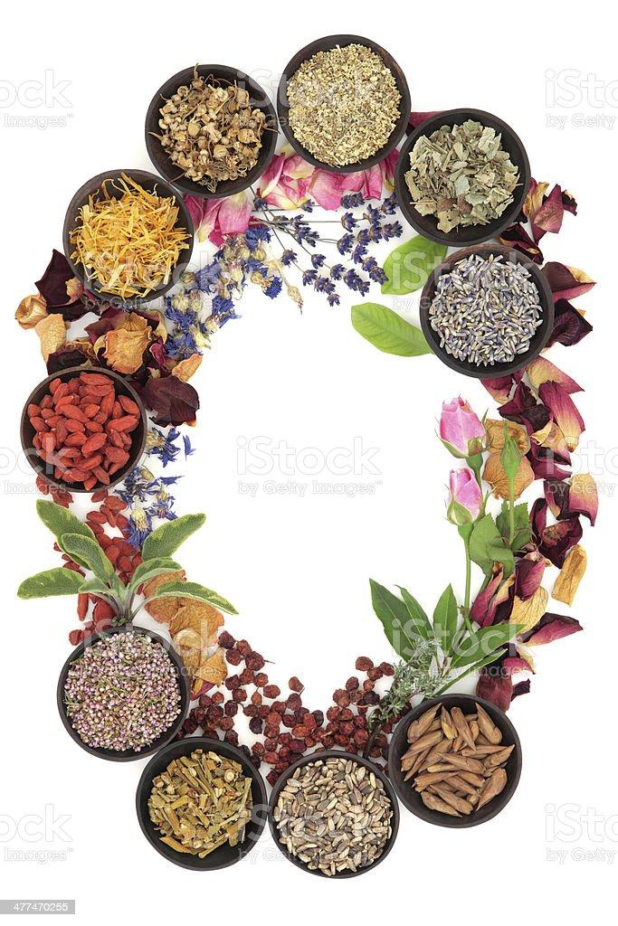 Natural Herbal Medicine royalty-free stock photo
