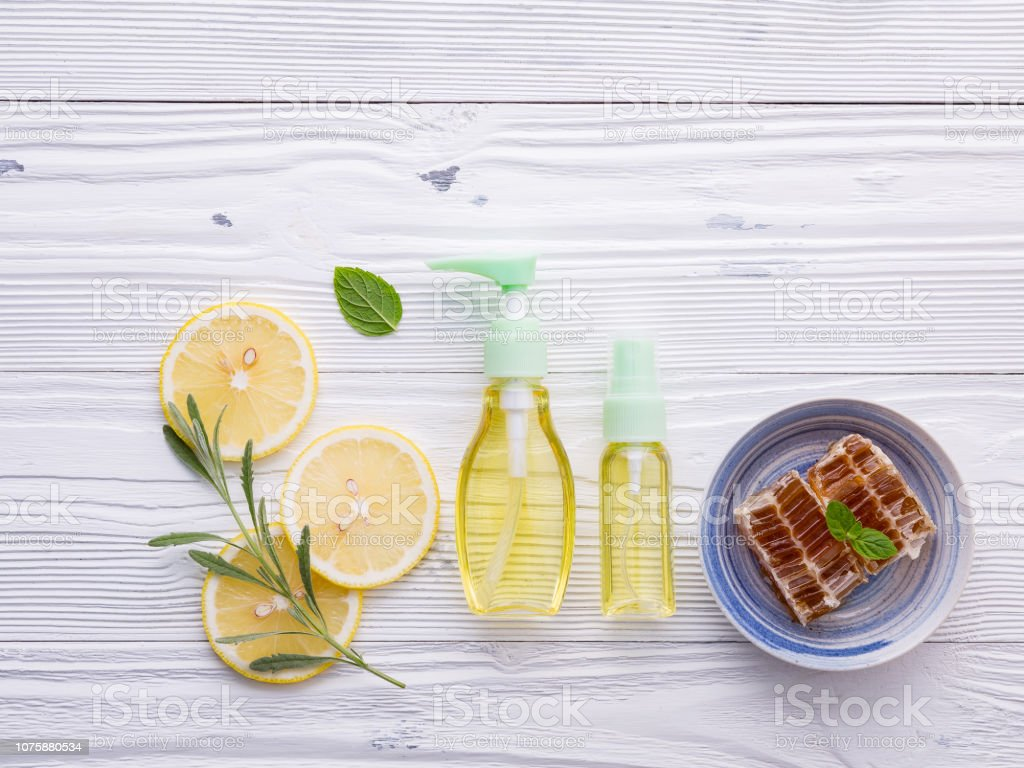Natural Herbal Skin Care Products Skin Care Ingredients On Table Concept Of The Best All Natural Face Moisturizer Facial Treatment Preparation Background Stock Photo Download Image Now Istock