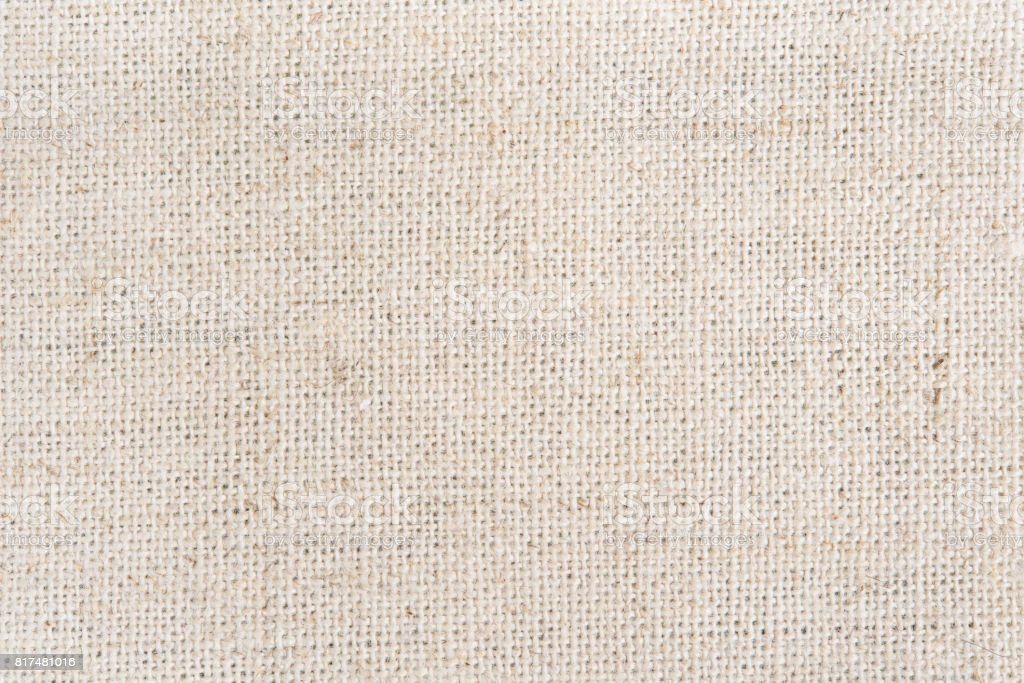 Natural hessian sackcloth woven texture pattern canvas background stock photo