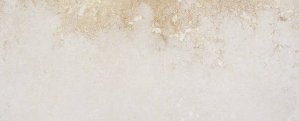 Natural high quality beige marble. stock photo
