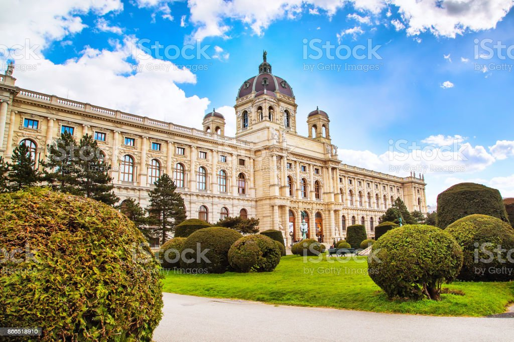 Natural History Museum in Vienna, Austria stock photo