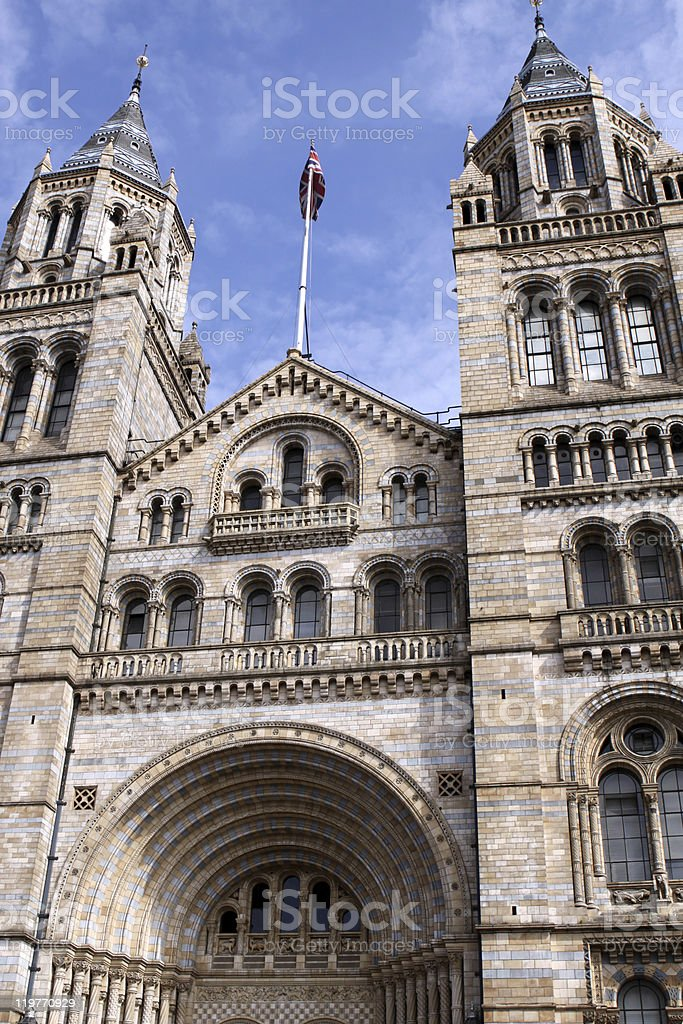 Natural History Museum royalty-free stock photo