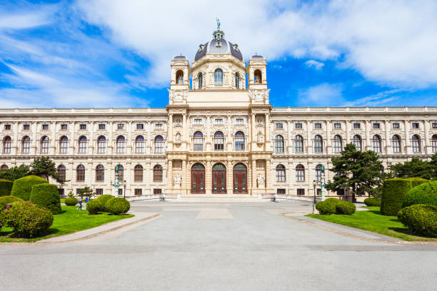 natural history museum, wien - kunsthistorisches museum wien stock-fotos und bilder