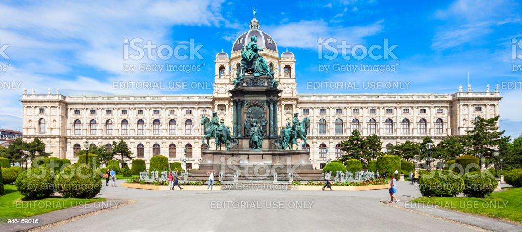 Natural History Museum, Vienna stock photo