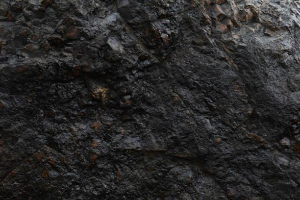천연 철 광 석 얼굴 표면 텍스처 - 바위 뉴스 사진 이미지