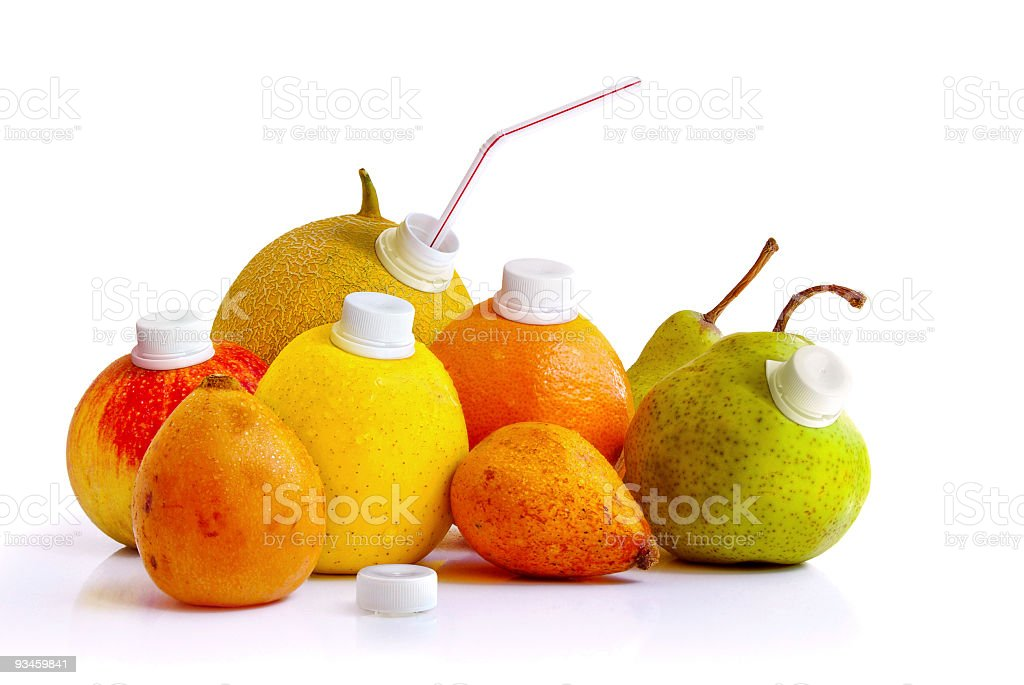 Natural Juice royalty-free stock photo