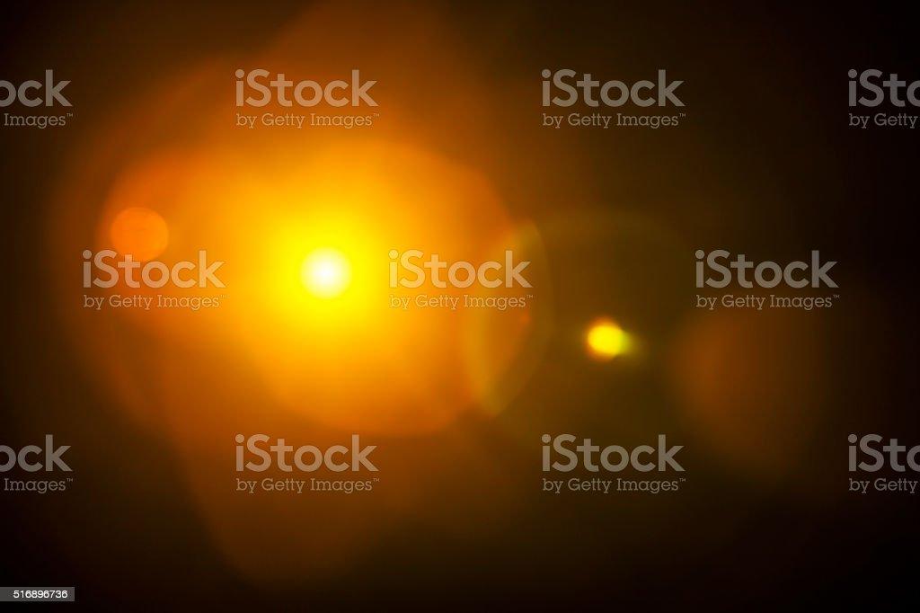 Natürlichen Blendenfleck Hintergrund – Foto