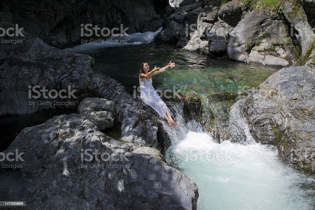 Natural lifestyle stock photo