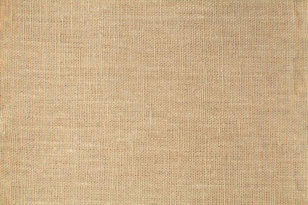 natural linen background - palha imagens e fotografias de stock