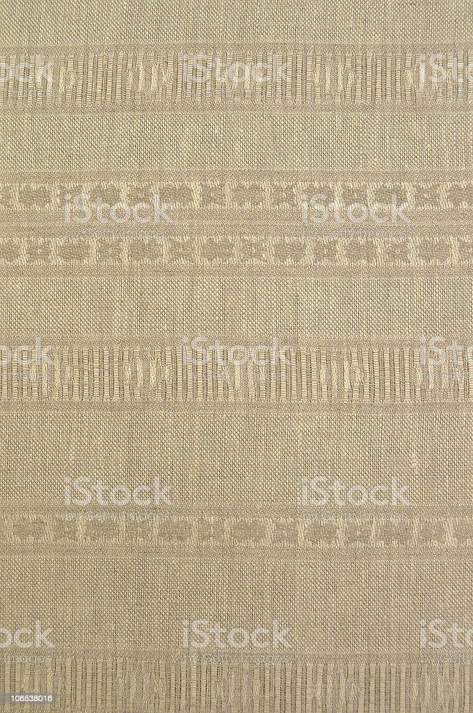 Natural linen vintage cloth royalty-free stock photo