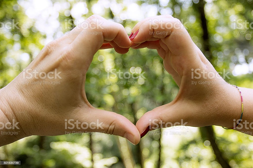 Natural Love royalty-free stock photo
