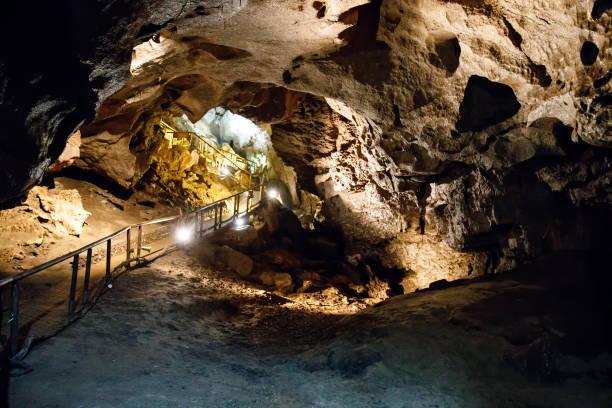 Natürliche Marmorbogen Höhle unterirdisch, Fermanagh, Nordirland. Drehort für viele Filme und Serien – Foto