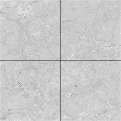 Natural Marble Square Tile Seamless Texture Map Reflect