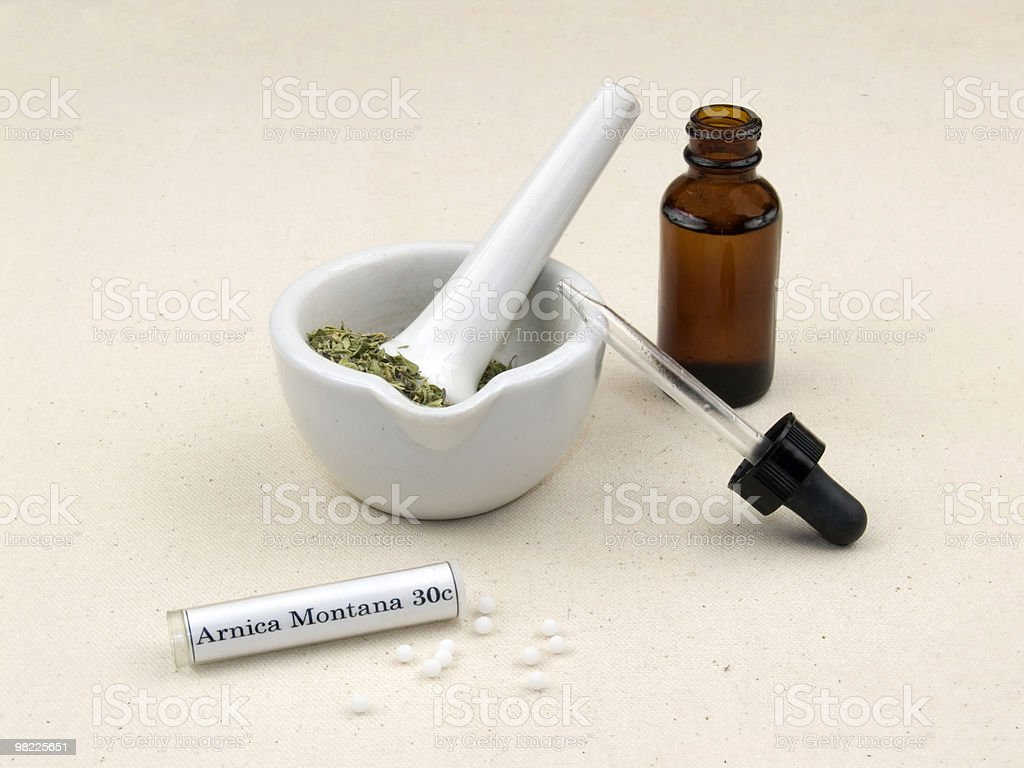 Natural medicine royalty-free stock photo