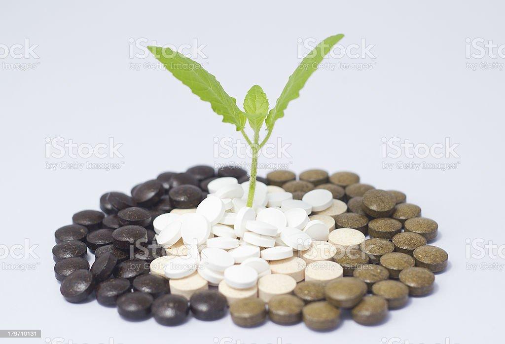 Natural Medicines royalty-free stock photo