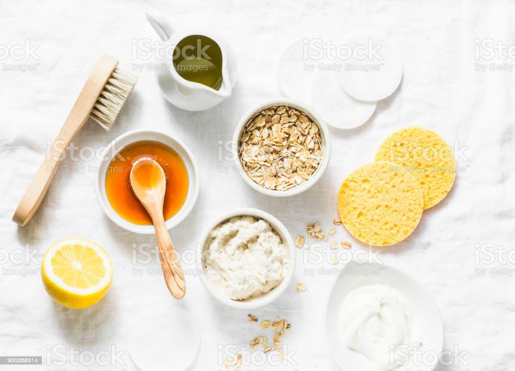 Fotografía De Hidratante Natural Alimentación Limpieza Mascarilla