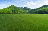 istock Natural mountains and grassland 1299224032