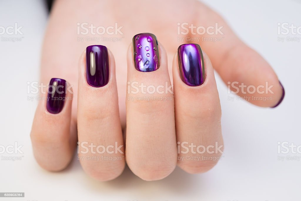Natural Nails Gel Polish Perfect Clean Manicure With Zero Cuticle ...