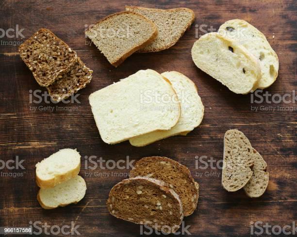 Naturliga Ekologiska Bröd Sortiment-foton och fler bilder på Bageri