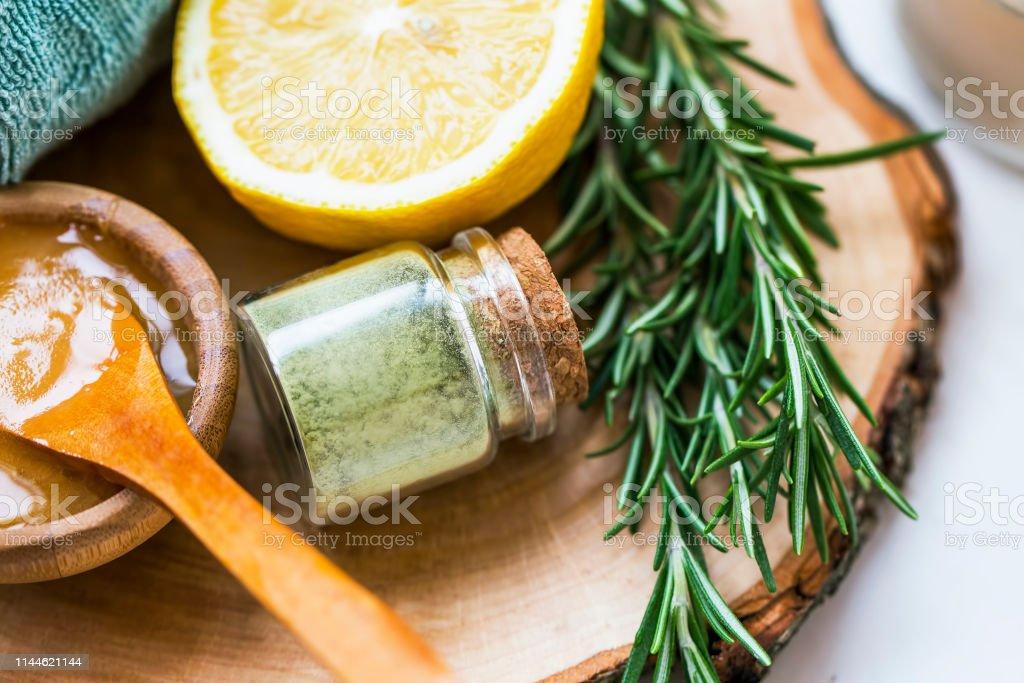 Romero miel y limon