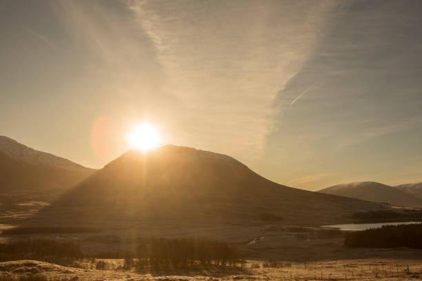 Doğal park ve highland İskoçya İngiltere İngiltere kırsal stok fotoğrafı