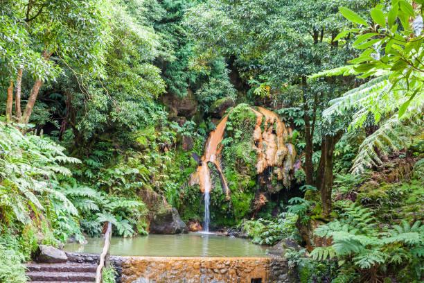 Parque natural de las islas Azores, Portugal - foto de stock